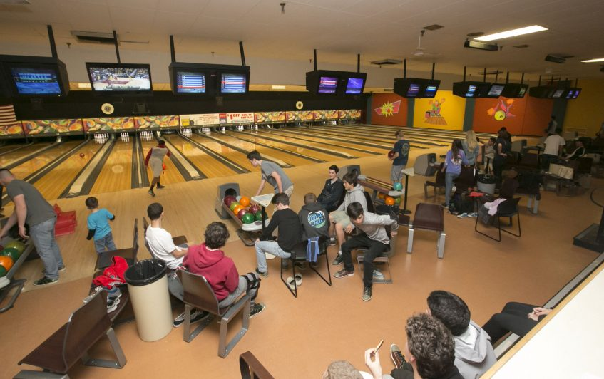 Bowling Lanes Are Often Busy at Valley Center Bowl